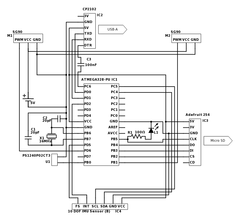 Flight Computer Schematic